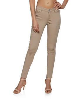 Twill Cargo Pants - 1074071610011