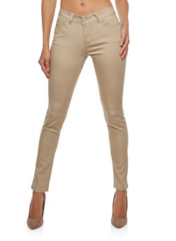 WAX Push Up Colored Skinny Jeans - 1074071610031