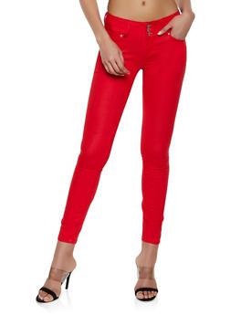 Brushed Twill Skinny Pants - 1074071610058