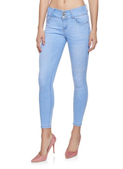 WAX 3 Button Push Up Jeans - 1074071610070
