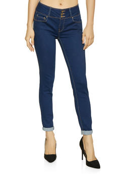 WAX 3 Button Push Up Jeans | 1074071610094 - 1074071610094