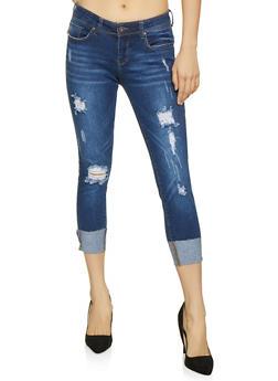 WAX Destruction Push Up Jeans - 1074071610121