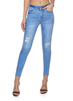 WAX High Waisted Push Up Jeans - 1074071610135