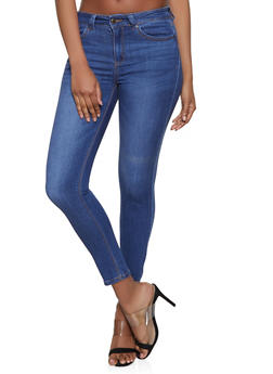 WAX Mid Rise Skinny Jeans - 1074071610142