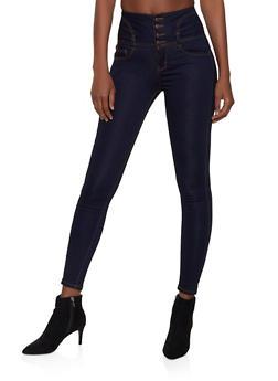 Womens Stretch Waist Jeans