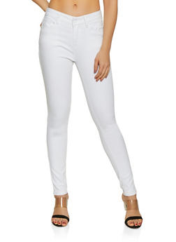 WAX One Button Skinny Jeans - 1074071610600