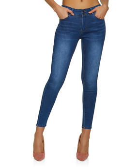 WAX 2 Button Push Up Jeans - 1074071610700