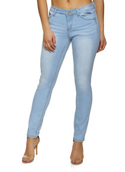 WAX Whisker Wash Push Up Jeans - 1074071614500