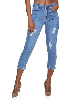 WAX High Rise Mom Jeans - 1074071616810