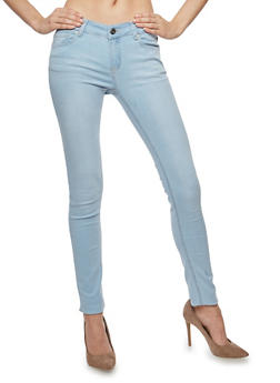 WAX Whisker Wash Skinny Jeans - 1074071619015