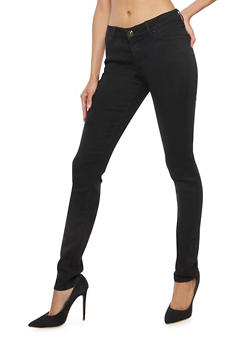 WAX Solid Skinny Jeans - 1074071619110