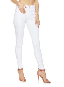 WAX High Waisted Push Up Jeans - 1074071619121