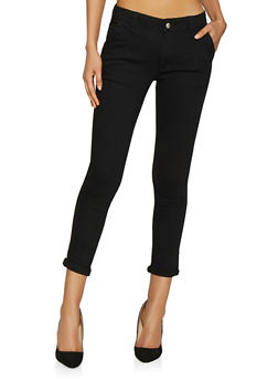 Solid Skinny Pants - 1074072290017