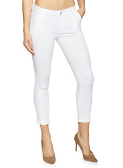 Solid Skinny Pants - 1074072290017