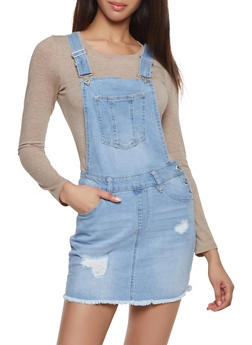 Highway Denim Overall Dress - 1076071312776