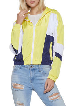 Color Blocked Windbreaker Jacket | 1086051065430 - 1086051065430