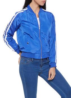 Blue Striped Jacket