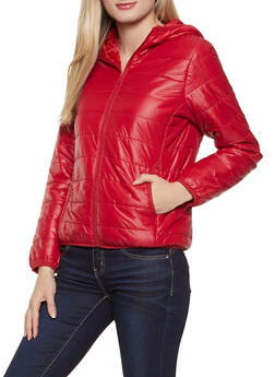 Quilted Packable Puffer Jacket - 1086054268970