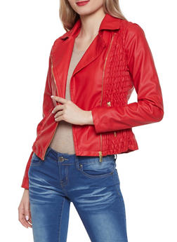 Women Faux Leather Jackets