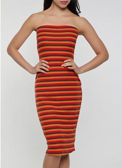 Striped Tube Dress | 1094034289023 - 1094034289023