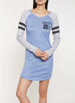 Addicted 2 Love Brushed Knit Dress - 1094038343936