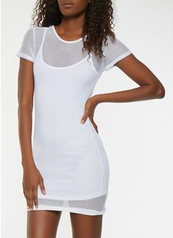 Fishnet Dress - 1094038348782