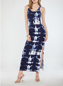 Tie Dye Maxi Tank Dress - 1094038348901