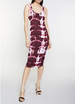 Tie Dye Tank Dress - 1094038349042