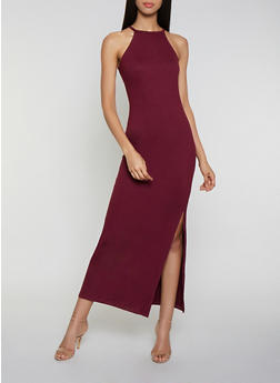 Burgundy Long Dresses