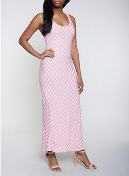 Spandex Pink Long Dress