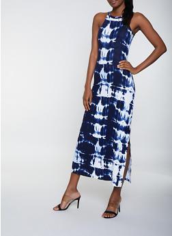 Tie Dye Tank Maxi Dress | 1094038349924 - 1094038349924