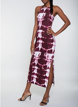 Tie Dye Tank Maxi Dress   1094038349924 - 1094038349924