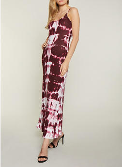 Tie Dye Cami Maxi Dress - 1094038349930