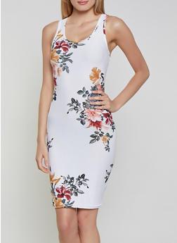 Floral Midi Tank Dress | 1094051065947 - 1094051065947