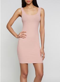 Rib Knit Tank Dress | 1094054261075 - 1094054261075