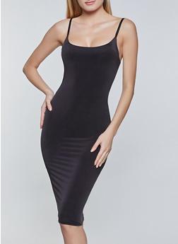Solid Cami Bodycon Dress - 1094058751056
