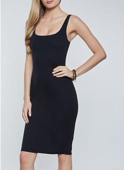 Ponte Bodycon Dress - 1094058751080