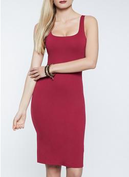Ponte Bodycon Dress - 1094058751080