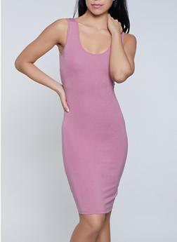 Scoop Neck Tank Dress - 1094061639735