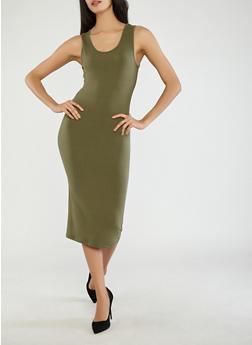 Soft Knit Tank Dress - 1094073374610