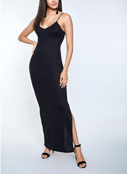 Ribbed Cami Maxi Dress - 1094073375419