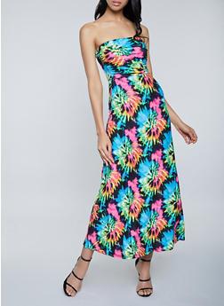 Tie Dye Maxi Dress - 1094073376203