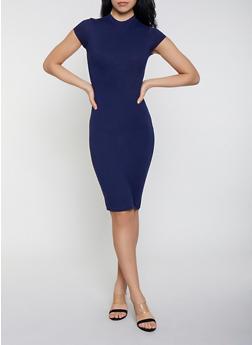 Mock Neck Bodycon Dress | 1094073379612 - 1094073379612