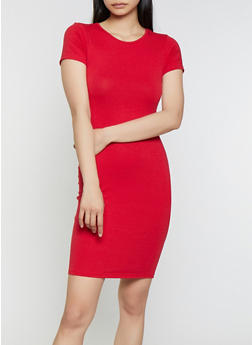 Solid T Shirt Dress | 1094074282510 - 1094074282510