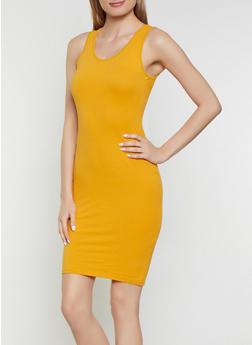 Solid Bodycon Tank Dress | 1094074282511 - 1094074282511