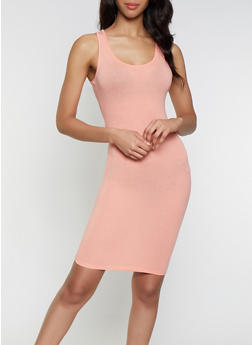 Solid Bodycon Tank Dress | 1094074282511 - 1094074282511