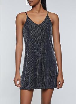 Lurex Slip Dress - 1096034286204