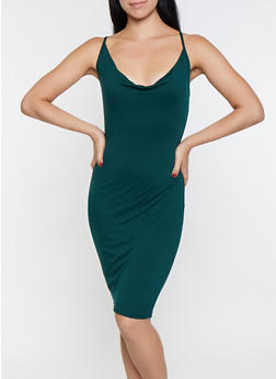 Sleeveless Bodycon Dress - 1096069394064