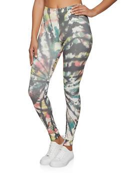Printed Soft Knit Leggings - 1097058751444