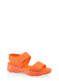 Double Band Sporty Sandals - 1110004063780